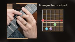 Barre Chords: Movable Chords