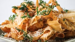 Root Vegetables: Celery Root and Parsnips