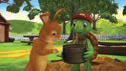 Franklin the Dinosaur Hunter / Franklin Paints a Picture