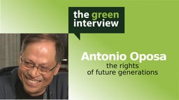 Antonio Oposa: The Rights of Future Generations
