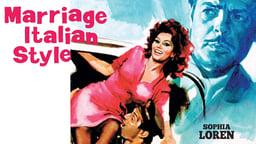 Marriage Italian Style - Matrimonio all'italiana