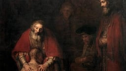The Return of the Prodigal Son (c. 1668) - Rembrandt