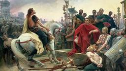 Caesar and Vercingetorix