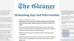 Jamaica Unchecked Homophobia