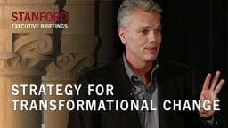 Strategy for Transformational Change - With Brad Smith