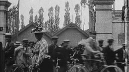 Exiting The Factory (1896)--Lumière