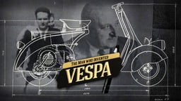 The Man Who Invented The Vespa - Una vespa mi ha punto