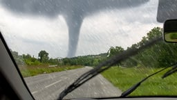 Tornadoes and Their Amazing Winds