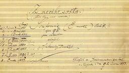 Dvorák: From the New World Symphony - 1893