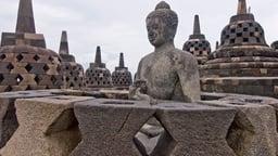 Borobudur—Ancient Buddhist Stupa