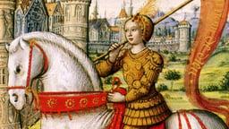 Joan of Arc Dies for France