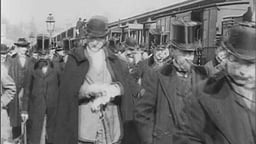 Arrival Of A Train (1897)--Gaumont