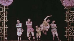 Kiriki, Japanese Acrobats (Hand-Colored) (1907)