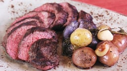 Grilling Lamb and Beef