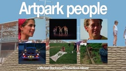 Artpark People - An Observation of an Outdoor Art Installation