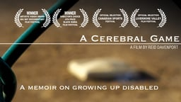 A Cerebral Game - Audio Description - A Filmmaker with Cerebral Palsy & His Love of Baseball