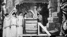 Eight Girls In A Barrel