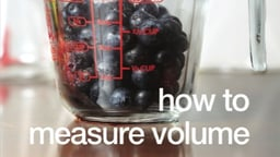How to Measure Volume