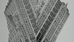 Looney Lens Series: Split Skyscrapers / Tenth Avenue, NYC