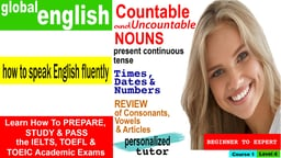 Global English Course 1 Lesson 4: Learn English as a Second Language