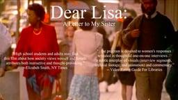 Dear Lisa