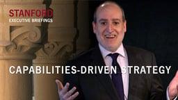 Capabilities-Driven Strategy