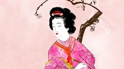 Lady Murasaki Writes the First Novel