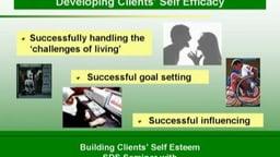Building Clients' Self Esteem, vol. 2 - Innovative, research based approach to building client self esteem