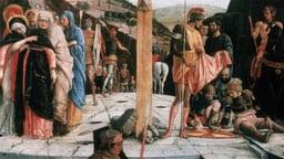 Crucifixion of Christ (1456 -59) - Andrea Mantegna