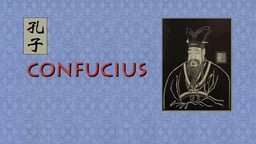 Confucius - The Life and Work of Confucius