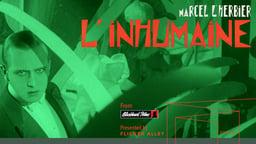 L'Inhumaine (The Inhuman Woman)
