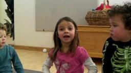 Children Discuss Rough Play - Four children explain to their teacher how to stop rough play