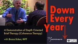 Down Every Year - A Demonstration of Depth Oriented Brief Therapy