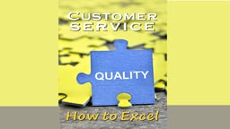 Business Management & HR Training Customer Service How to Excel