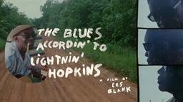Blues Accordin' to Lightnin' Hopkins