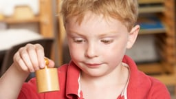 Maria Montessori at Home for Young Children