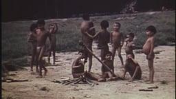 Children Roasting Meat