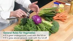 Choosing the Best Method to Cook Vegetables