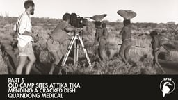 Old Camp Sites at Tika Tika - Mending a Cracked Dish - Quandong Medical