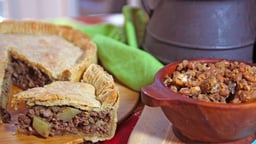The French Canadian Tourtière Meat Pie