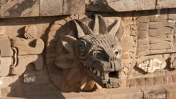 Teotihuacán—Temple of the Feathered Serpent