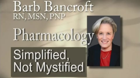 Pharmacology: Simplified Not Mystified