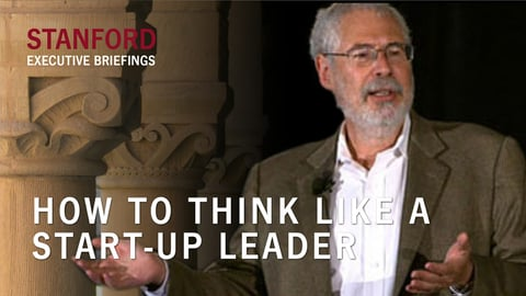 How to Think Like a Start-Up Leader