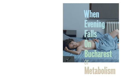 When Evening Falls on Bucharest or Metabolism cover image