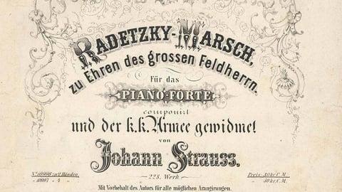 Strauss Sr.: Radetzky March