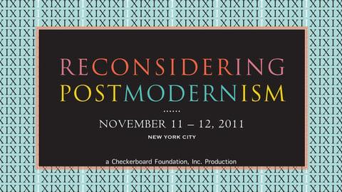 Reconsidering Postmodernism