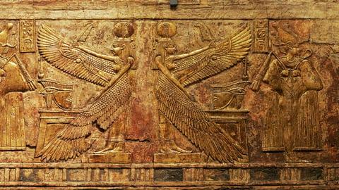 Horus, Osiris, and Ra