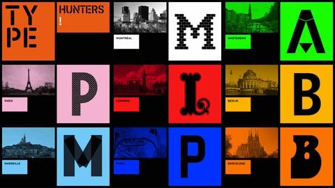 Type Hunters - Typography Styles Around Europe