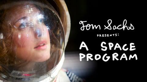 A Space Program - Artist Tom Sachs' Homemade Space Station