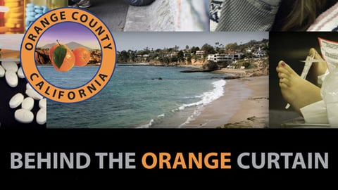 Behind the Orange Curtain cover image